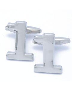 A4-1002 Manchetknopen - Cijfer Nummer 1 Een 1.jpg
