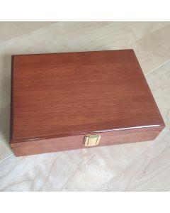 Luxe Houten Manchetknopen Box voor 20 Paar