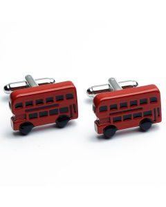 N-1169 Manchetknopen - Bus Dubbeldekker Rood Brits Engeland 1.jpg