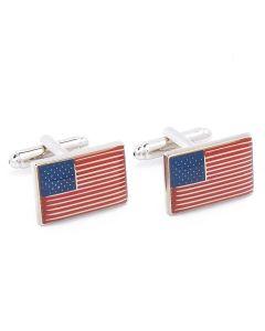 N-1450 Manchetknopen - Amerikaanse Vlag Amerika Amerikaans 1.jpg