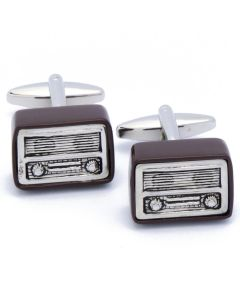 N-2066 Manchetknopen - Radiotoestel Retro Vintage 1.jpg