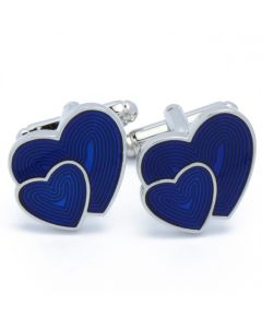 N-2669 Manchetknopen - Harten Hartjes Blauw 1.jpg