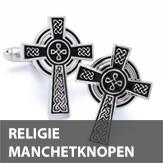 Religie manchetknopen