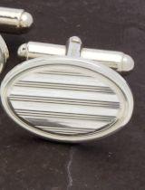 925 Sterling Zilver Productbanner Unieke Manchetknopen